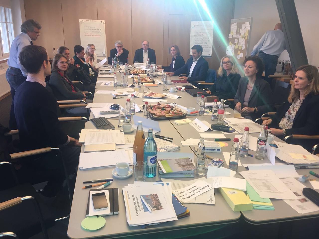 Stuttgart Lunch debate