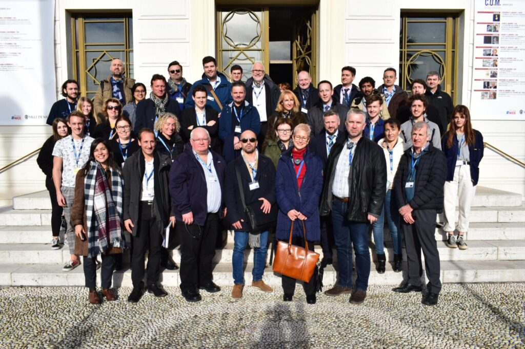 Les partenaires du projet PACTESUR sur la protection des espaces publics, réunis à Nice.